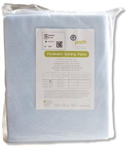 Formalin neutraliser pads, Q Path® Safety Pad