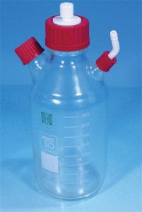 Accessories for glass columns and kits for flash chromatography