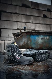 ESD-sikkerhedsankelstøvler, med snørebånd, Renzo Biomex GTX®