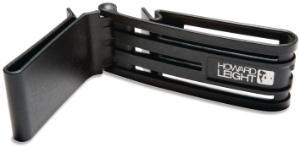 Slim belt clip for earmuffs