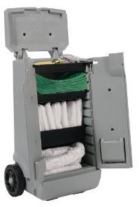 Universal sorbent kits, trolley
