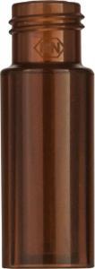 Screw neck vial, N 9, 11,6×32,0 mm, PP amber, 0,2 ml conical glass insert
