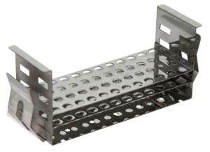 Stainless steel test tube rack for shaking water bath 119×0,5 ml microtubes