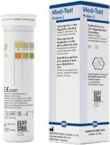 Urine test strips, Medi‑Test protein2