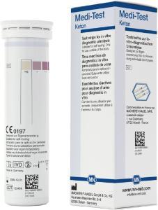 Urine test strips, Medi‑Test ketone