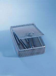 Mesh basket with lid, E 363