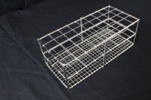 Stainless steel rack for 25 mm tube, 36 holes