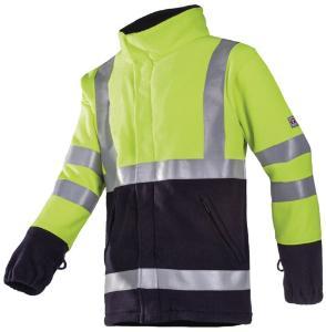 Flame-retardant high visibility fleece jacket, Valier 9896
